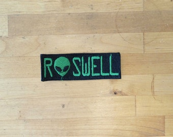 Patch patches embroidery iron flag on applique vintage kawaii jacket sew backpack denim jacket shorts biker alien ufo roswell