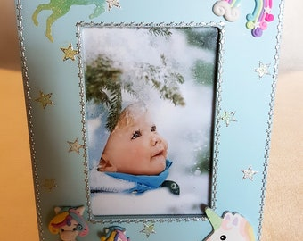 photo frame, baby girl - at the heart of the arts