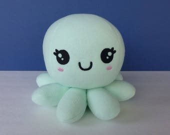 Kawaii Girl Octopus:  Mint