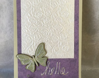 HELLO Card by MARC619