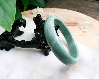 ice care thin natural burma for genuine bangles health green from stone jade bangle bracelet indian item women water run full cute jewelry in