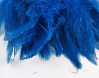 dark blue feathers rooster tail feathers