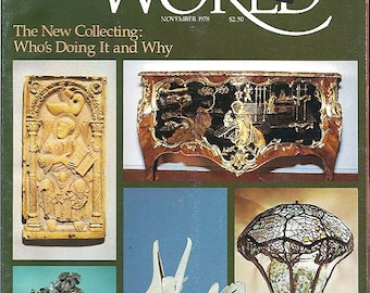 Antiques World November 1978 Vol. 1 No. 1 - Premier Issue