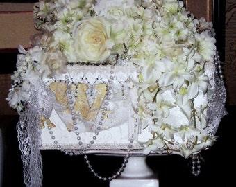 WEDDING CARD BOX Wedding Chest Wedding Bridal Accessoriies handmade