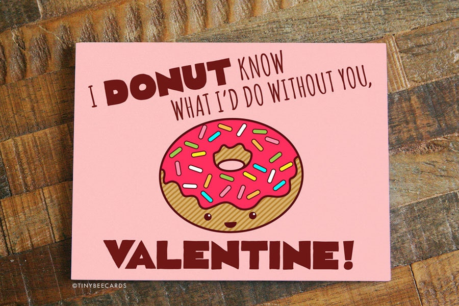Funny Valentines Day Card For Boyfriend Or Girlfriend For