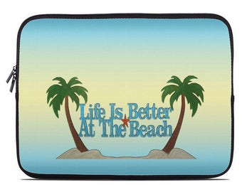 Nautical Laptop Cover, tablet case, tablet sleeve, laptop case, laptop sleeve, computer sleeve, to fit 10, 13, 15, 17 inch