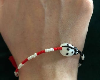 Lady Bug Zen Bracelet