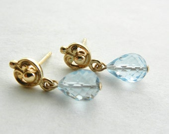 Blue Topaz Kallisto Earrings