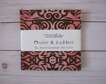 Chutes  & Ladders Charm Pack by Arrin Turnmire for Moda
