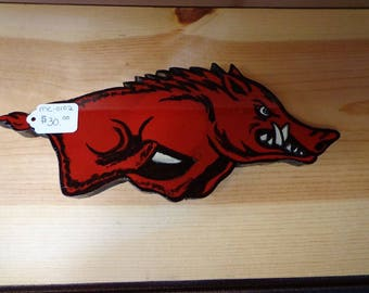 Small Running Hog Wall Art