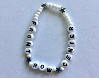 FRONT ROW CENTER Beaded Bracelet