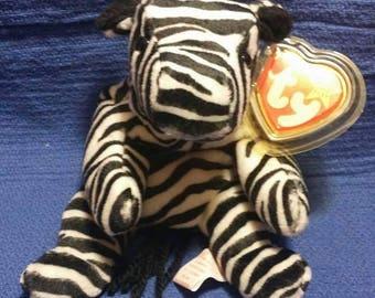 Ziggy the Zebra TY beanie baby
