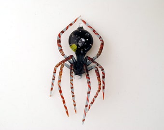 Medium Dichroic Spider with Planets and stars in Abdomen