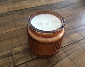 Hand poured citrus scented candle