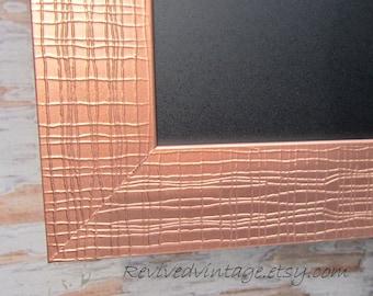 "MODERN FRAMED CHALKBOARDS For Sale Long Narrow Chalk board Copper Bronze 39""x16"" Magnetic Urban Modern Decor Kitchen Magnet Board"