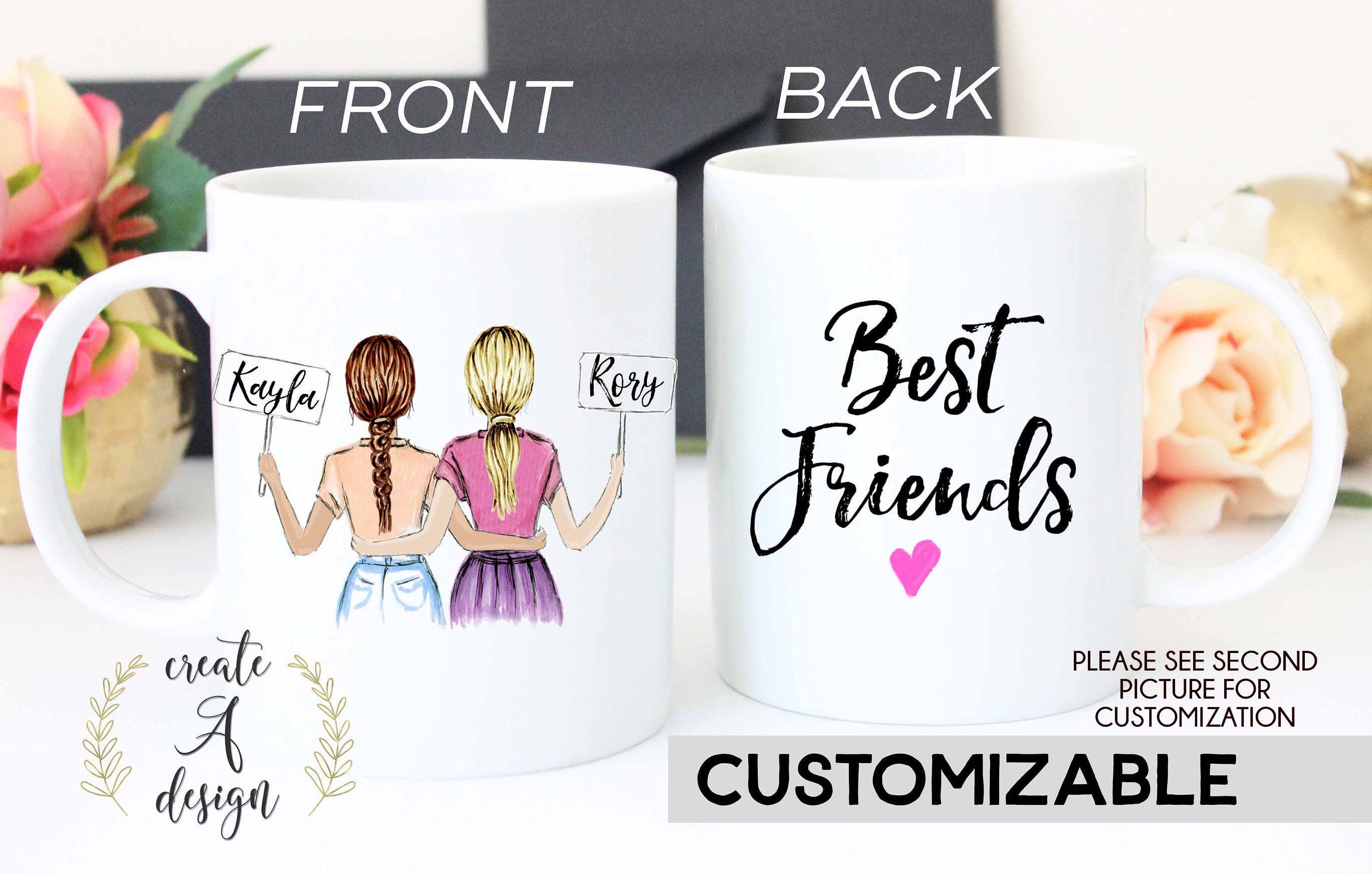 Gift For Best Friend On Wedding Day: Best Friend Gift Valentine's Day Gift Personalized