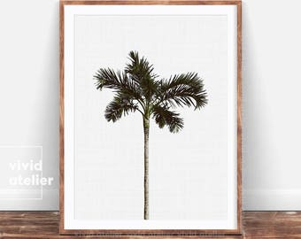 Palm Tree Print, Palm Printable Wall Art, Palm Digital Print, Palm Poster, Tropical Wall Art, Palm Art Print, Beach Decor, Palm Wall Decor
