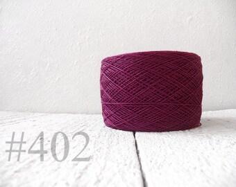 Radiant orchid Linen yarn 100% linen # 402