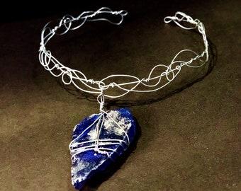 Silver Linings Seaglass Choker