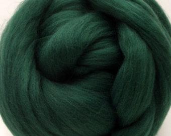 4 oz. Merino Wool Top - Loden