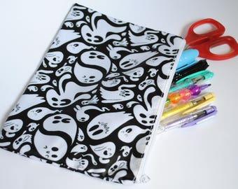 Ghost Pencil/Cosmetic Bag