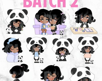 Batch 2 - Polka and Dot 01 (Kawaii Planner Stickers)