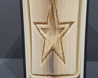Folded Book Art - Army