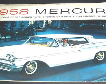 1958 Ford Mercury booklet