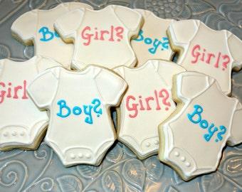 Gender Reveal/Neutral Cookies