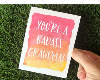 Funny Mother's Day card for Grandma / Funny Card for Nana / Funny card for Mimi / Grandma Card / Grandmother card / Grandma Birthday Card