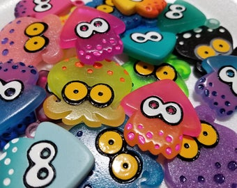 Splatoon Mystery Charm 5 Pack