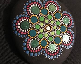 Hand painted Mandala