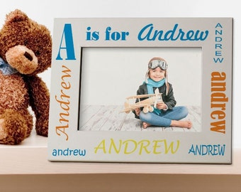 Letters gift photo frame