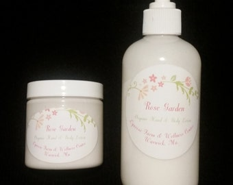 Organic Hand and Body Lotion