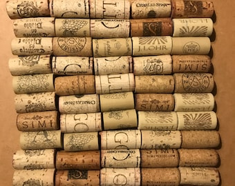 50 count - recycled Wine Corks - variety - perfect for home made gifts, crafts and DIY projects!