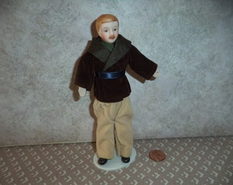 1:12 scale Dollhouse Vintage Father doll