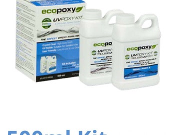 500 ml uvpoxy / Ecopoxy / environmentlly safe/ artist resin