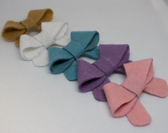 Mini Felt bow set