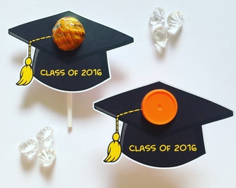 Graduation lollipop holders