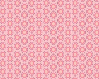 1 Yard Parfait Pink Oval Elements Collection, by Art Gallery
