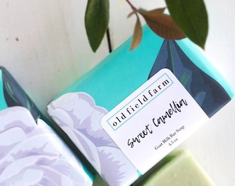 Cameilla Goat Milk Bar Soap