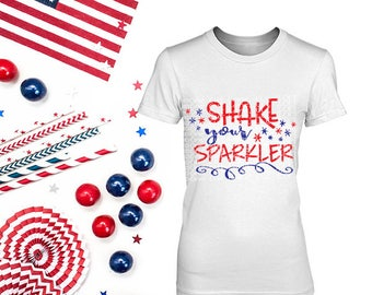 Shake your Sparkler Svg, Dxf, Studio 3 Cut File, PDF Files, EPS for Cutting Machines