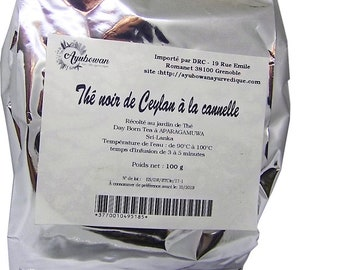 Black tea from Ceylon cinnamon 100 g
