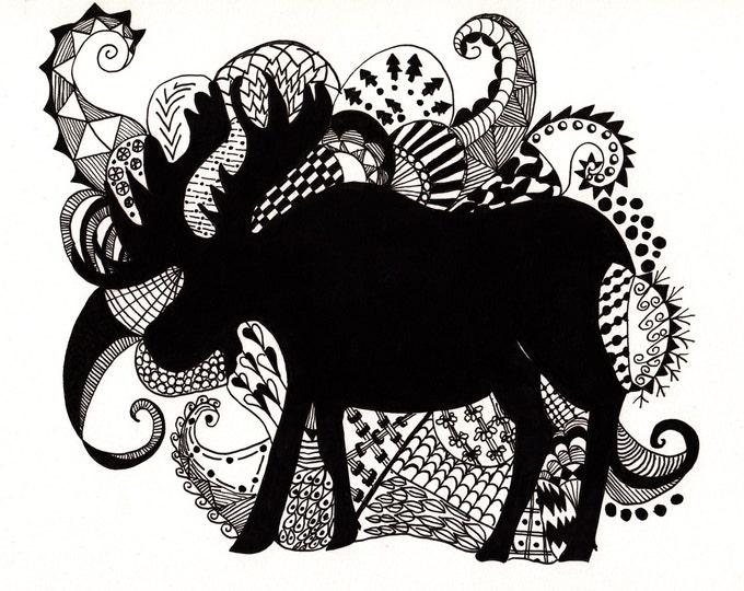 The Zen Moose Cards