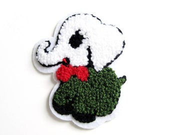 Patch elephant sewing 83 x 70 mm