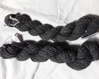 Handspun wool by Tiffany Landres