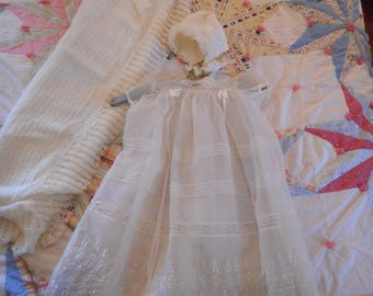 Vintage Baby Baptismal Gown