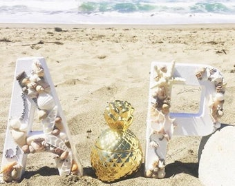 Custom made Center Piece / Event Decor - Beach Theme - Bacherlorettes, Wedding Showers, Weddings, Birthdays, Baby Showers, Holiday