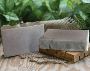 Rhassoul Clay Soap, handmade clay soap, vegan soap