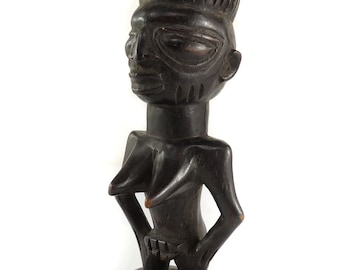 Luba Female Miniature Congo African Art 121478